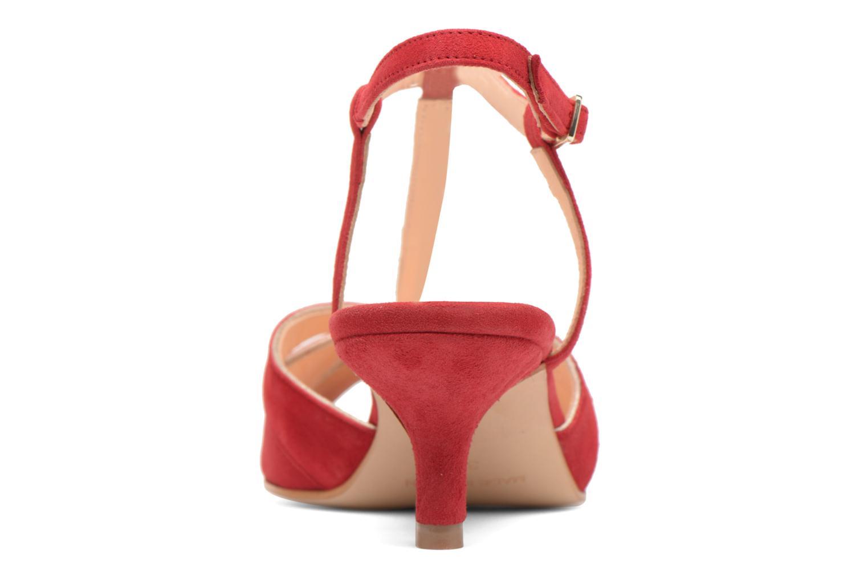 Sandales et nu-pieds Georgia Rose Etcera Rouge vue droite