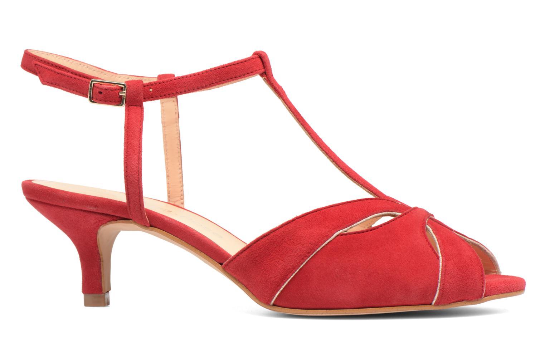 Sandales et nu-pieds Georgia Rose Etcera Rouge vue derrière