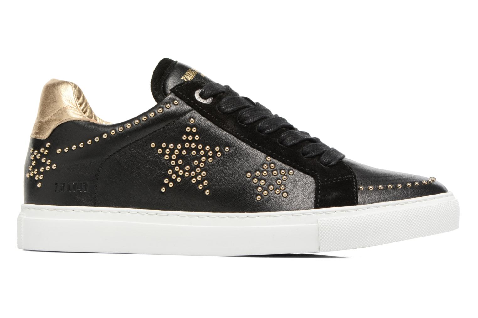 Trainers Zadig & Voltaire STARS Black back view