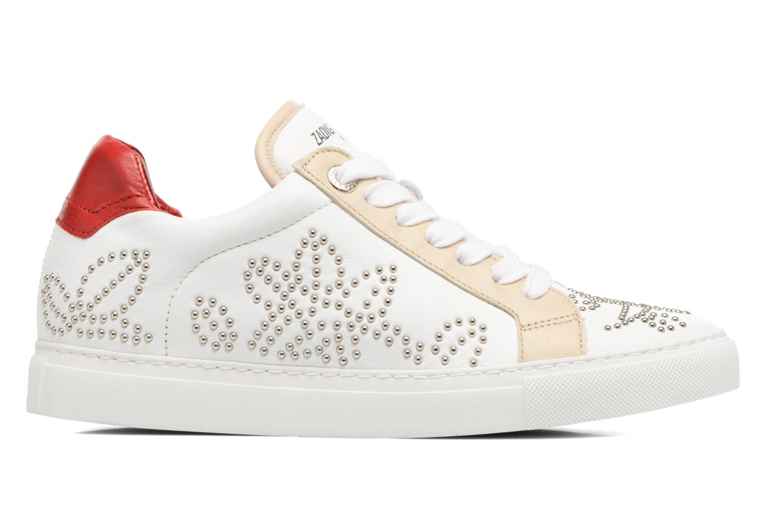 Trainers Zadig & Voltaire ROSE White back view