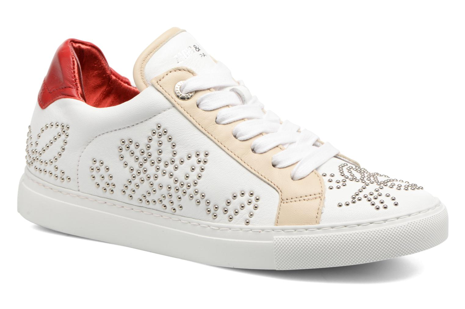 Trainers Zadig & Voltaire ROSE White detailed view/ Pair view