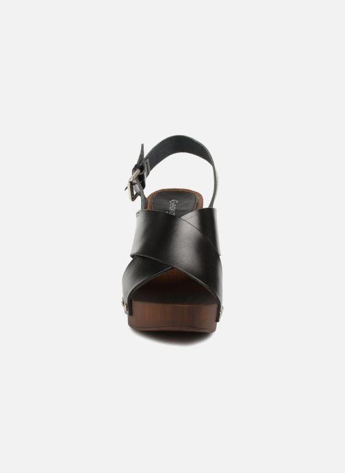 Sandali e scarpe aperte Georgia Rose Doclou Nero modello indossato