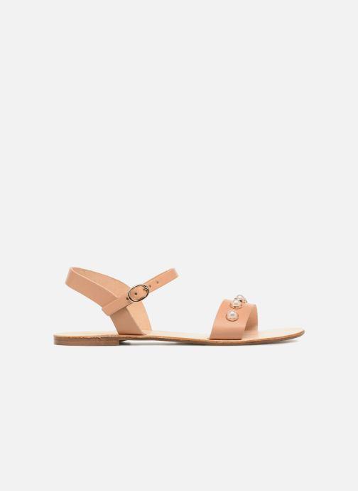 Sandales et nu-pieds Georgia Rose Docultura Marron vue derrière