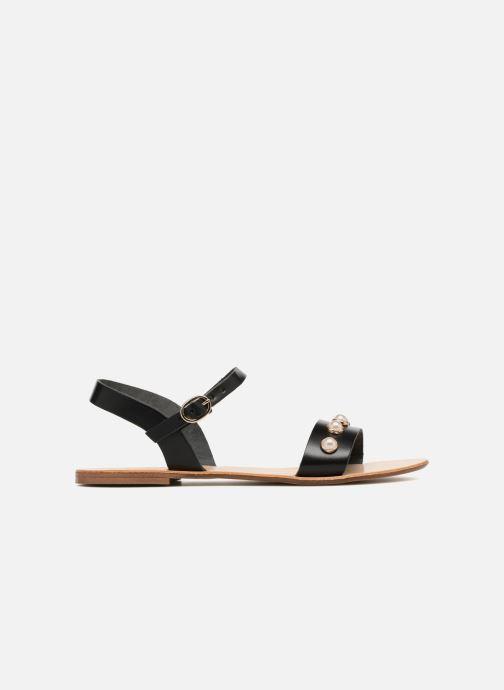 Sandales et nu-pieds Georgia Rose Docultura Noir vue derrière