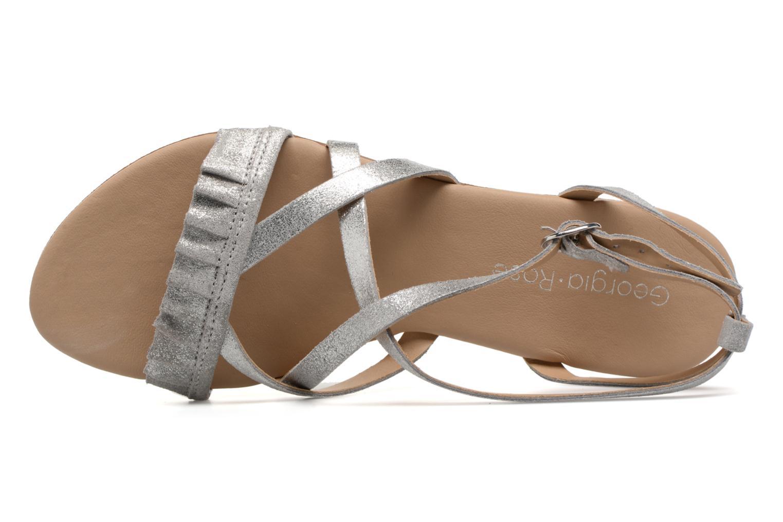Sandales et nu-pieds Georgia Rose Dovolant Argent vue gauche