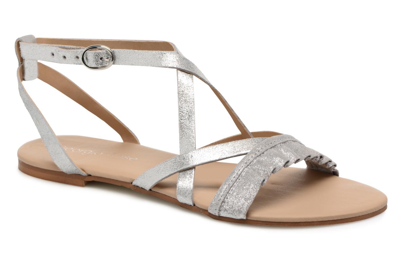 Sandales et nu-pieds Georgia Rose Dovolant Argent vue détail/paire