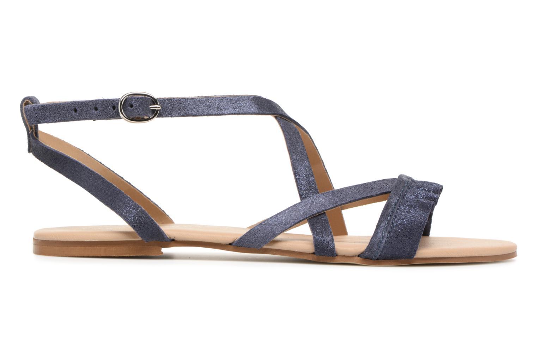 Sandales et nu-pieds Georgia Rose Dovolant Bleu vue derrière