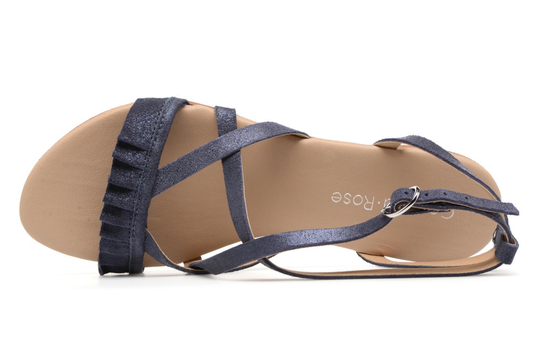 Sandales et nu-pieds Georgia Rose Dovolant Bleu vue gauche