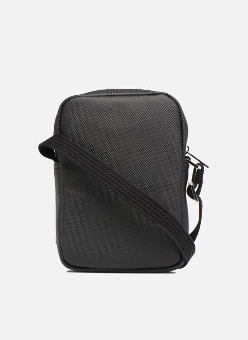 Bolsos de hombre Lacoste Men'S Classic Slim Vertical Camera Bag Negro vista de frente