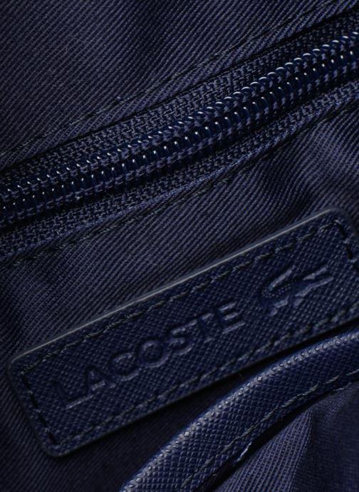 Sacs homme Lacoste Men'S Classic Slim Vertical Camera Bag Noir vue derrière