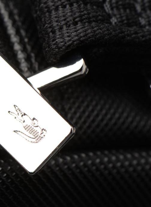 Herrentaschen Lacoste Men'S Classic Slim Vertical Camera Bag schwarz ansicht von links