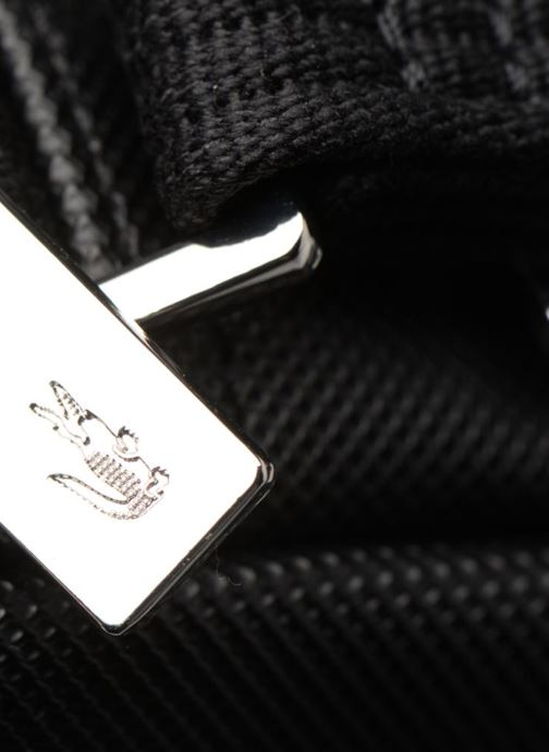 Bolsos de hombre Lacoste Men'S Classic Slim Vertical Camera Bag Negro vista lateral izquierda