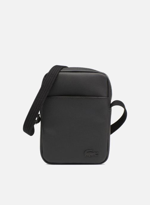 Bolsos de hombre Lacoste Men'S Classic Slim Vertical Camera Bag Negro vista de detalle / par