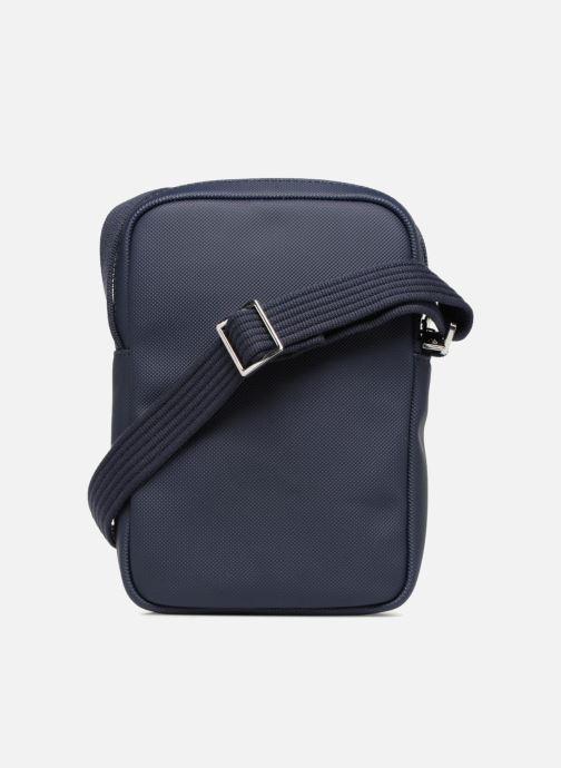 Sacs homme Lacoste Men'S Classic Slim Vertical Camera Bag Bleu vue face