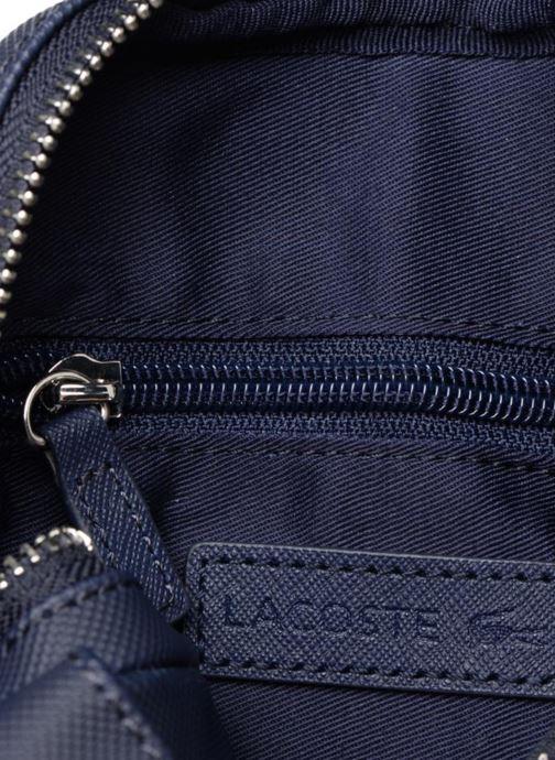 Sacs homme Lacoste Men'S Classic Slim Vertical Camera Bag Bleu vue derrière