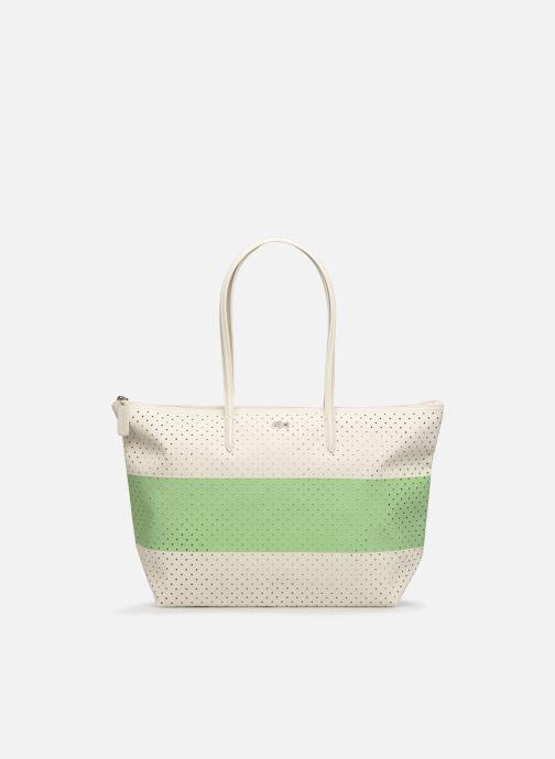 Handtassen Lacoste L SHOPPING BAG Seasonal Wit detail