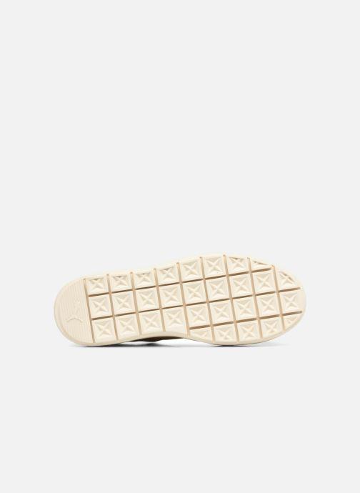 Sneaker Puma Suede Platform Trace Wn's beige ansicht von oben
