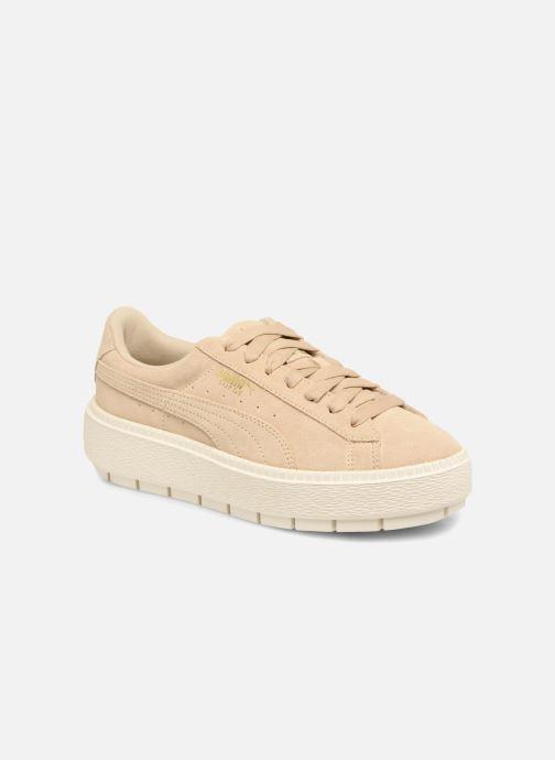 Sneaker Puma Suede Platform Trace Wn's beige detaillierte ansicht/modell