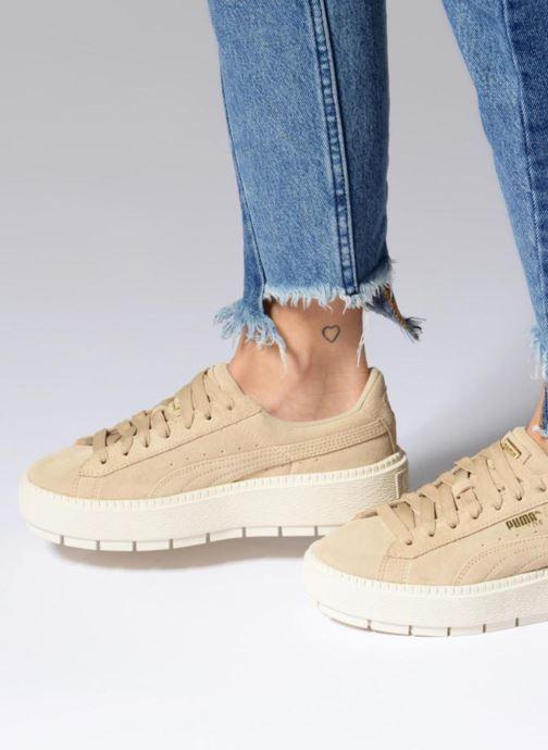 Sneakers Puma Suede Platform Trace Wn's Roze onder