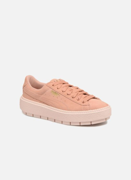 Sneakers Puma Suede Platform Trace Wn's Roze detail