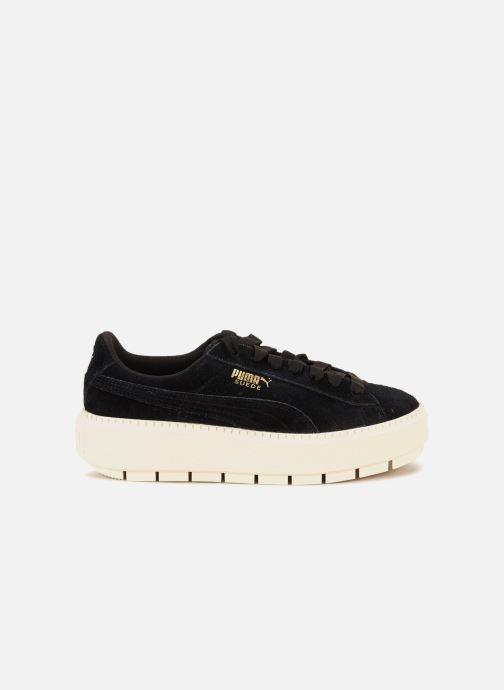 Sneaker Puma Suede Platform Trace Wn's schwarz ansicht von hinten