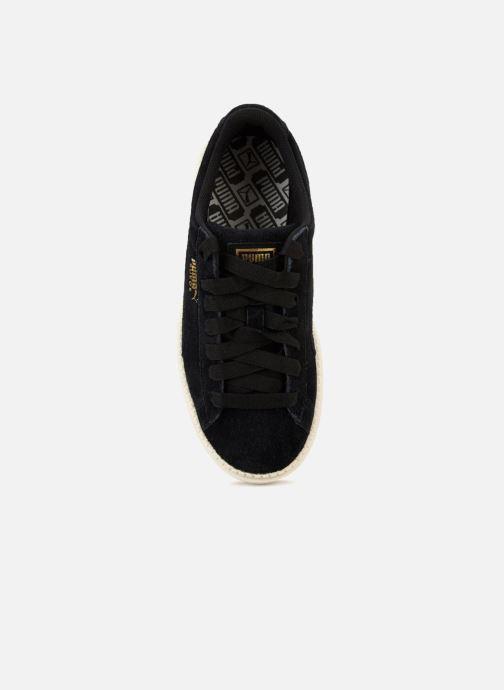 Sneaker Puma Suede Platform Trace Wn's schwarz ansicht von links