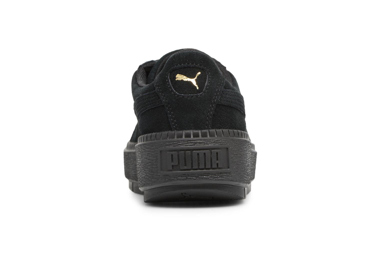 Baskets Puma Suede Platform Trace Wn's Noir vue droite