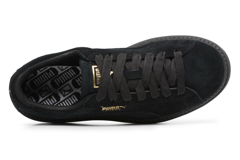 Baskets Puma Suede Platform Trace Wn's Noir vue gauche