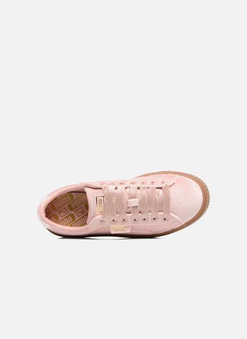 Sneakers Puma W Basket Platform VS Rosa immagine sinistra