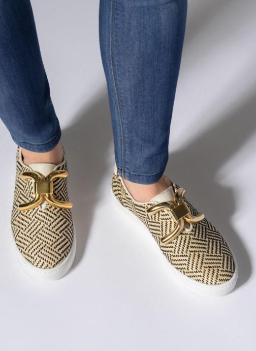 Sneakers An Hour And A Shower Livia Beige immagine dal basso