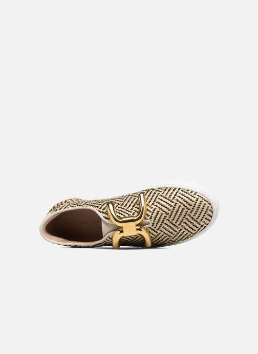 Sneakers An Hour And A Shower Livia Beige immagine sinistra