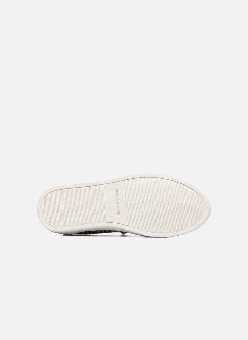 Sneaker An Hour And A Shower Livia beige ansicht von oben