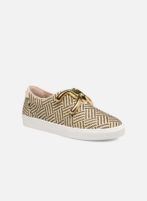 Baskets An Hour And A Shower Livia Beige vue détail/paire