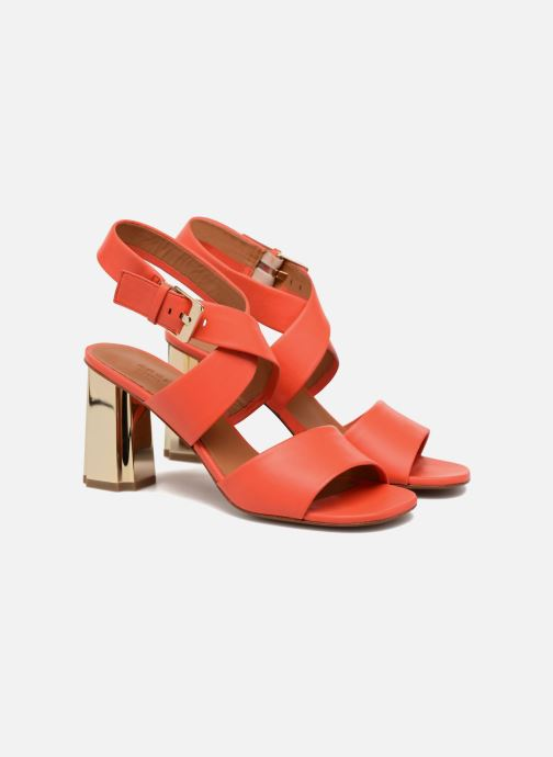 Sandales et nu-pieds Clergerie ZORA Orange vue 3/4