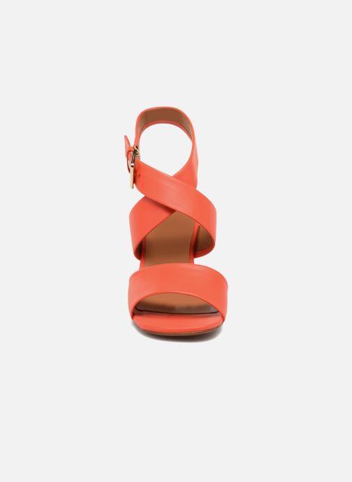 Sandales et nu-pieds Clergerie ZORA Orange vue portées chaussures