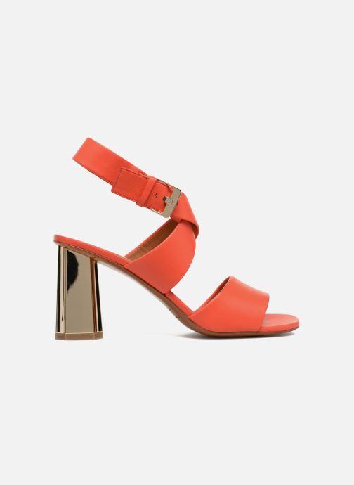 Sandales et nu-pieds Clergerie ZORA Orange vue derrière