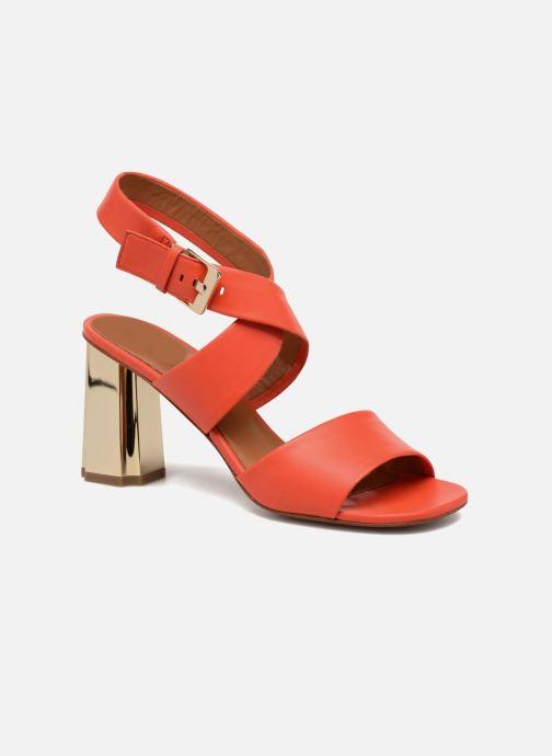 Sandales et nu-pieds Clergerie ZORA Orange vue détail/paire
