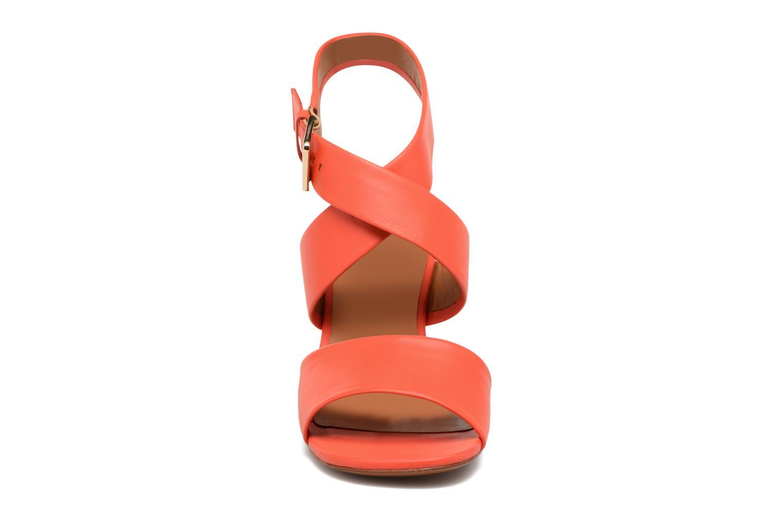 Sandals Clergerie ZORA Orange model view