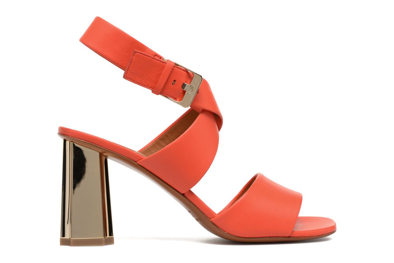Sandals Clergerie ZORA Orange back view