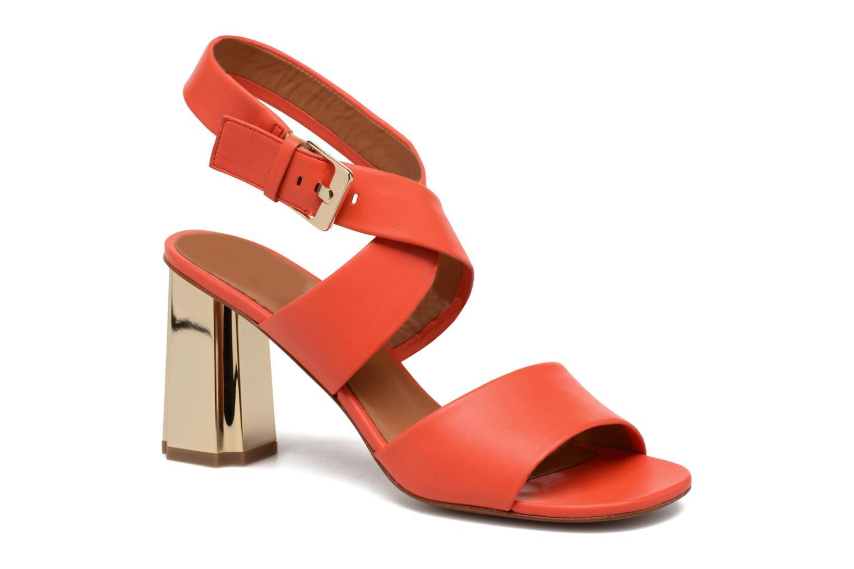 Sandals Clergerie ZORA Orange detailed view/ Pair view
