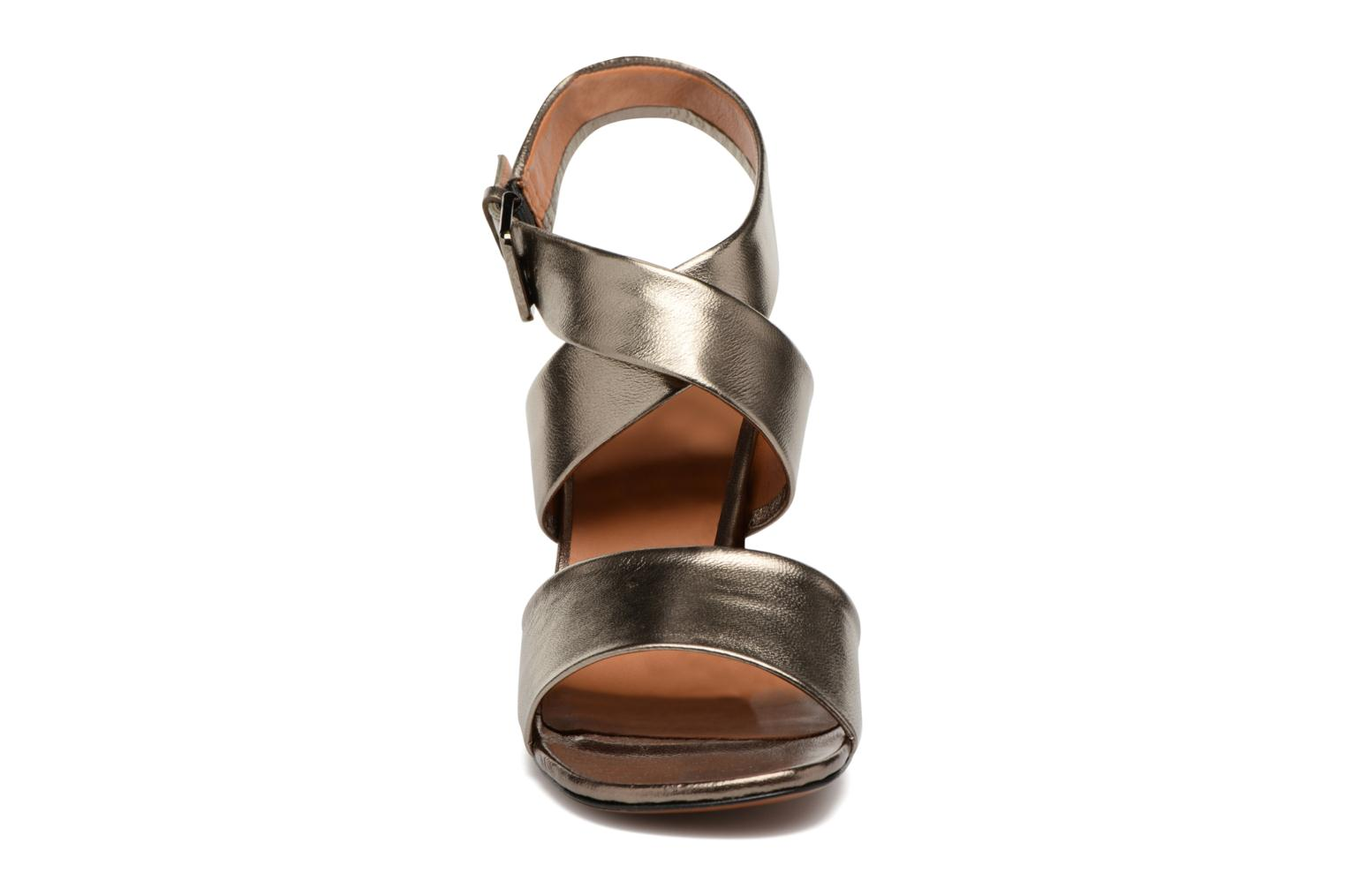 Sandals Clergerie ZORA Bronze and Gold model view