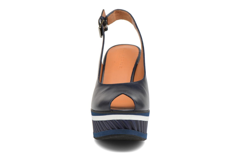 Sandals Clergerie DALLAN Blue model view