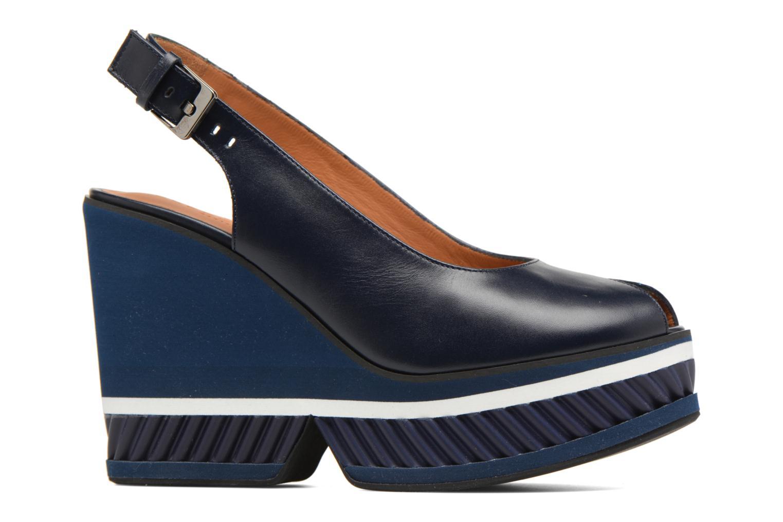 Sandals Clergerie DALLAN Blue back view