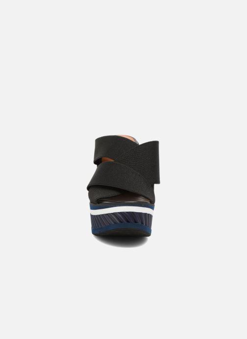 Mules et sabots Clergerie DRYSTAN Noir vue portées chaussures