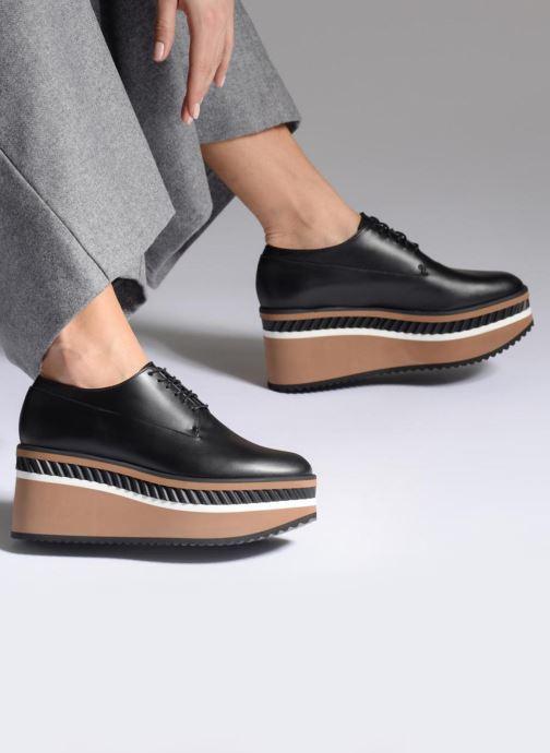 Zapatos con cordones Clergerie LOMIA Negro vista de abajo