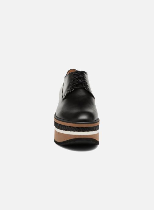 Chaussures à lacets Clergerie LOMIA Noir vue portées chaussures