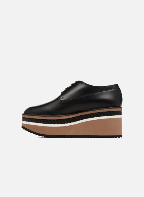 Chaussures à lacets Clergerie LOMIA Noir vue face