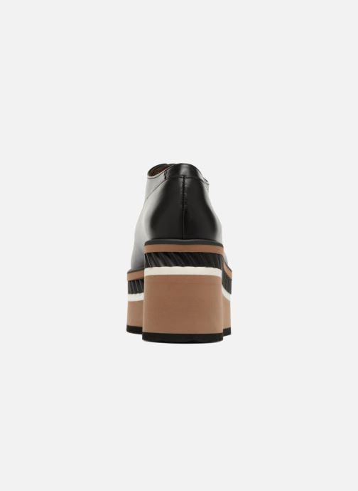 Zapatos con cordones Clergerie LOMIA Negro vista lateral derecha