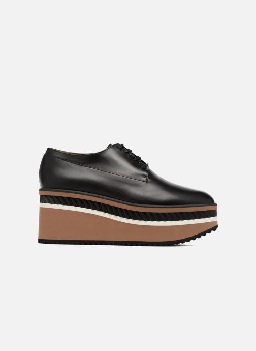 Zapatos con cordones Clergerie LOMIA Negro vistra trasera