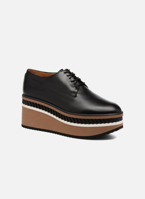 Zapatos con cordones Clergerie LOMIA Negro vista de detalle / par